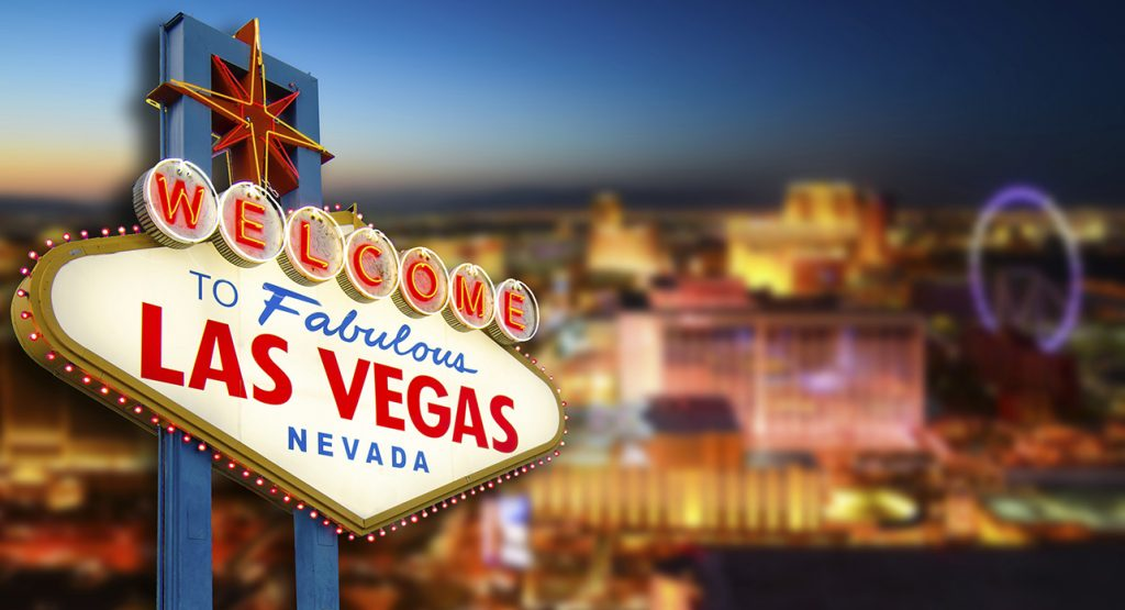 Hire our 4m Vegas banner for a grand entrance