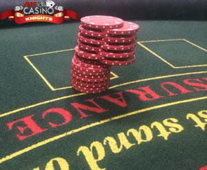 Casino Chip shuffle
