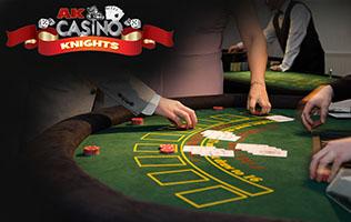 Hire fun casino in Essex with A K Casino Knights