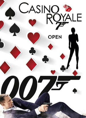 James Bond banner