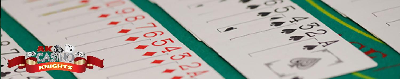 Caribbean stud poker at A K Casino Knights