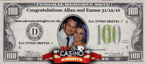 A K Casino Knights wedding blog 8