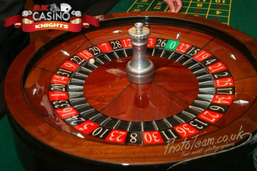 A K Casino Knights Kent law society roulette wheel